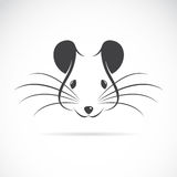 Vektorbild eines Rattenkopfes Lizenzfreie Stockfotografie