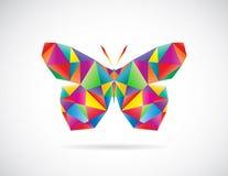 Vektorbild eines Schmetterlingsdesigns Lizenzfreie Stockbilder