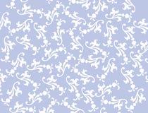 Vektorblauer mit Filigran geschmückter Hintergrund Lizenzfreie Stockbilder