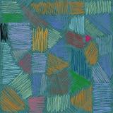 Vektorbleistiftanschläge Von Hand gezeichnete Linien Stockbild