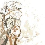 Vektorblumenhintergrund Stockbilder