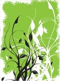 Vektorblumenhintergrund Lizenzfreies Stockbild