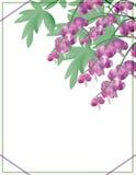 Vektorblumenhintergrund mit Blumen EPS10 Lizenzfreie Stockfotos