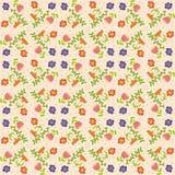 Vektorblumenhintergrund, Muster Stockfoto