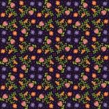 Vektorblumenhintergrund, Muster Stockfotografie