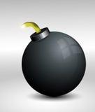 Vektorbombe Lizenzfreies Stockbild