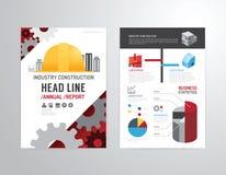 Vektorbroschyr, reklamblad, design för affisch för häfte för tidskrifträkning stock illustrationer