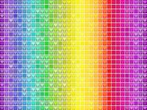 Vektorbunter Spektralmosaikmusterhintergrund Lizenzfreie Stockfotografie