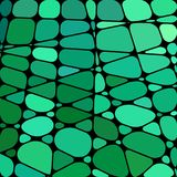Vektorbuntglas-Mosaikhintergrund Stockfotografie