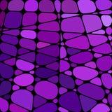 Vektorbuntglas-Mosaikhintergrund Lizenzfreie Stockfotografie
