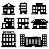 Vektorbyggnader Arkivbild