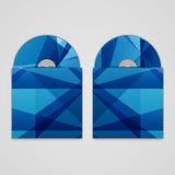 Vektorcd Abdeckungssatz für Ihren Entwurf, abstrakt Lizenzfreie Stockfotografie