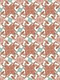 Vektorchinesisches traditionelles ineinandergegriffenes Muster - Symbol Lizenzfreie Stockbilder