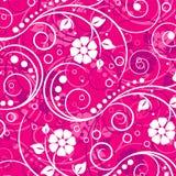 Vektordekoratives Blumenmuster Lizenzfreies Stockbild