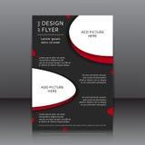 Vektordesign av reklambladet Royaltyfri Foto