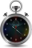 Vektordesign av stopwatchen Arkivbilder
