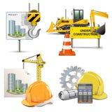 Vektordesign och konstruktion royaltyfri illustrationer