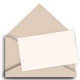 Vektoreinladungs-Kartenschablone Stockbild