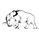 Vektorelefant Stockbild