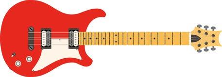 Vektorelektrische Gitarre Vektor Abbildung
