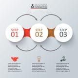 Vektorelemente für infographic Lizenzfreie Stockbilder