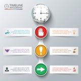 Vektorelemente für infographic Stockfotos