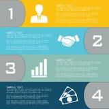 Vektorelemente für infographics Lizenzfreie Stockbilder