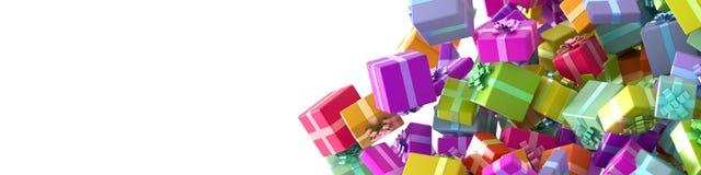 Vektorfarbe stellt die Illustration für Entwurf lokalisiert auf Weiß dar Stockfotografie