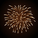 Vektorfeiertagsfeuerwerk Lizenzfreies Stockbild