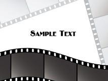 Vektorfilmstreifen Lizenzfreie Stockfotos