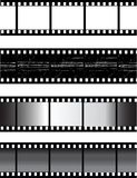 Vektorfilmstrip stockfotos