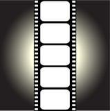 Vektorfilmstrip Lizenzfreie Stockfotografie