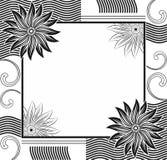 Vektorformgivareram Arkivbild