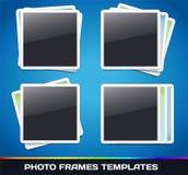 Vektorfotoet inramar gallerit Royaltyfri Foto