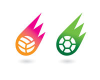 Vektorfußball 1 Vektor Abbildung