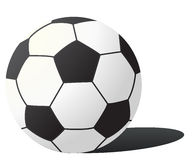 vektorfußballkugel