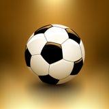 Vektorfußballkugel Stockbild