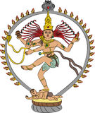 Vektorgöttin Kali vektor abbildung
