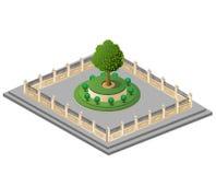Vektorgarten Lizenzfreie Stockfotos