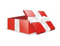 Vektorgeöffneter Geschenk-Geschenkkasten Lizenzfreies Stockfoto