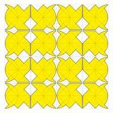 Vektorgeometrisches Muster vektor abbildung