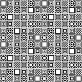 Vektorgeometrisches nahtloses Muster Stockbild