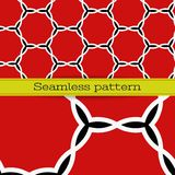 Vektorgeometrisches nahtloses Muster Lizenzfreie Stockbilder