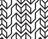 Vektorgeometrisches nahtloses Muster Stockfotografie