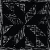 Vektorgeometrisches nahtloses Muster Wiederholen von abstrakten Punkten Lizenzfreie Stockfotografie