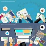 Vektorgeschäftskommunikationen weltweit Lizenzfreie Stockfotografie