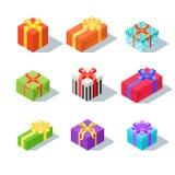 Vektorgeschenk und -geschenk Lizenzfreie Stockfotografie