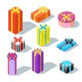 Vektorgeschenk und -geschenk Lizenzfreie Stockfotos