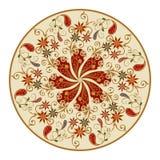 Vektorgestaltungselemente in einer traditionellen orientalischen Art Lizenzfreies Stockbild