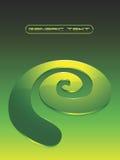 Vektorglasige Spirale lizenzfreie abbildung